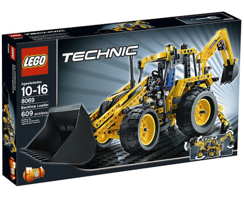 LEGO Technic Backhoe Loader Set #8069