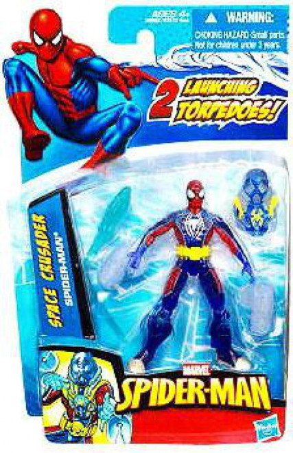Spider-Man 2010 Space Crusader Spider-Man Action Figure