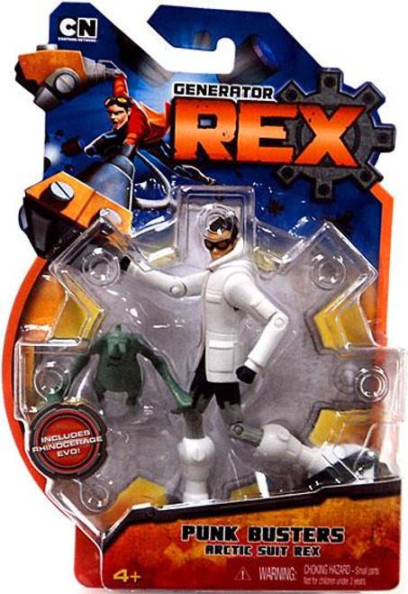 Generator Rex Rex Action Figure [Punk Busters Arctic Suit]