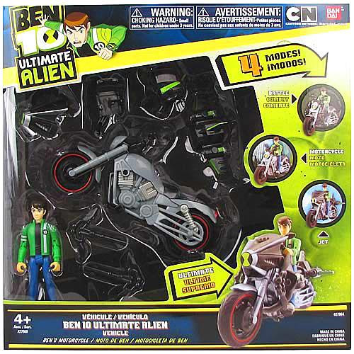 Ben 10 Ultimate Alien Ben's Motorcycle Action Figure Vehicle