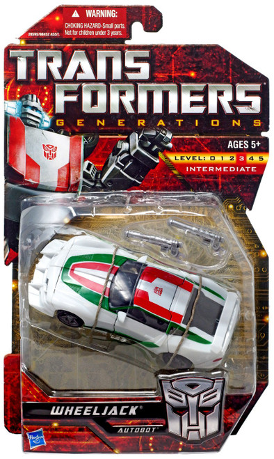 Transformers Generations Deluxe Wheeljack Deluxe Action Figure