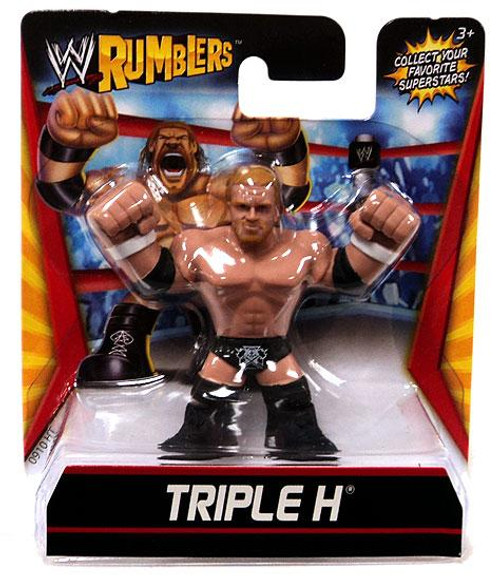 WWE Wrestling Rumblers Series 1 Triple H Mini Figure