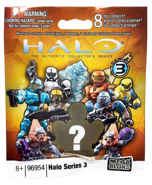 Mega Bloks Halo Series 3 Minifigure Mystery Pack #96954