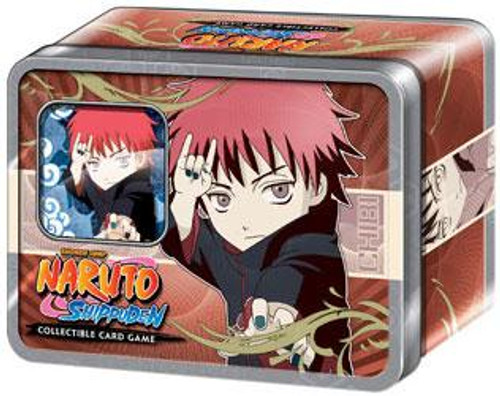 Naruto Shippuden Card Game Ultimate Battle Sasori Collector Tin