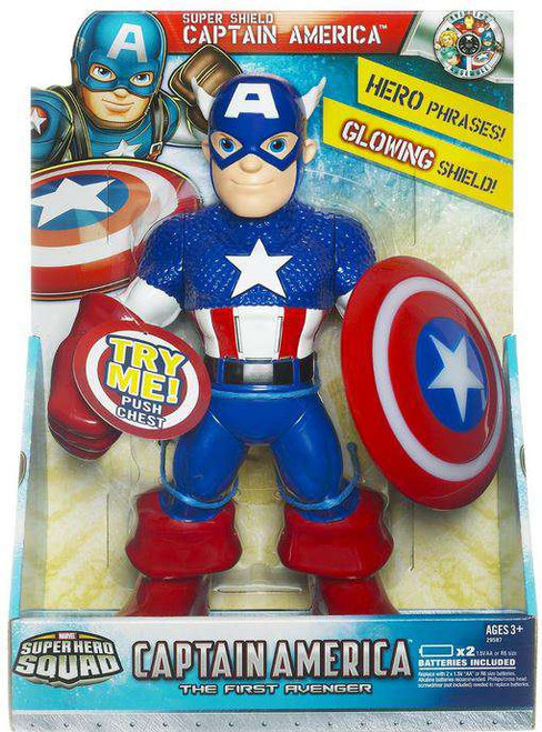 The First Avenger Super Hero Squad Super Shield Captain America Action Figure