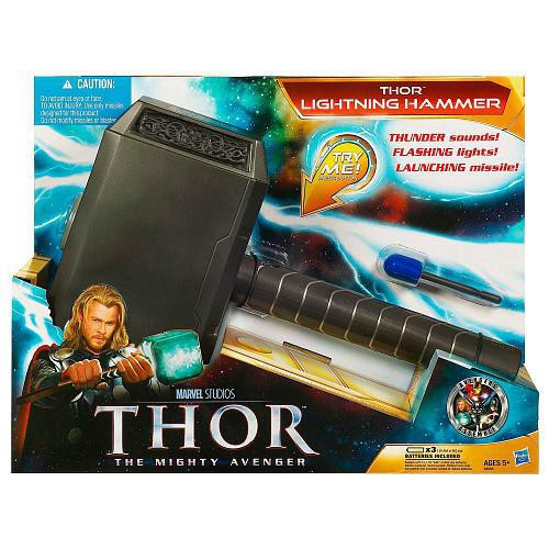 Thor The Mighty Avenger Lightning Hammer Roleplay Toy