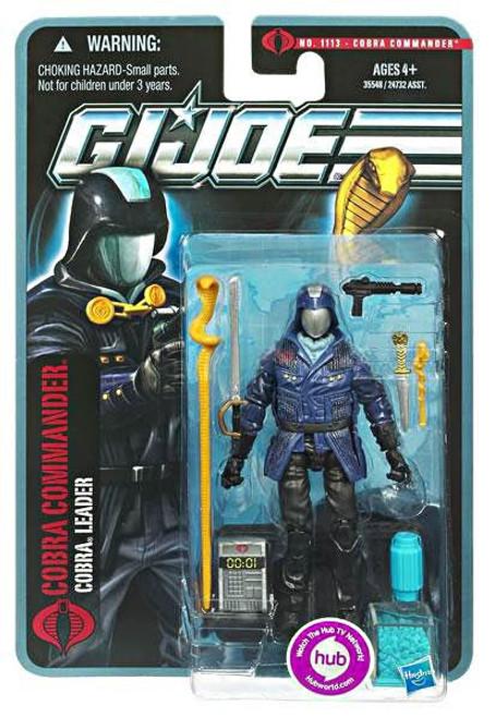 GI Joe Pursuit of Cobra Cobra Commander Action Figure
