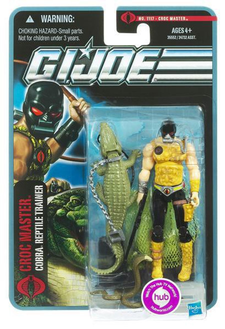 GI Joe Pursuit of Cobra Croc Master Action Figure