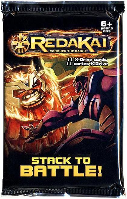 Redakai Conquer the Kairu X-Drive Power Pack Booster Pack [Hobby Edition]