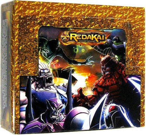 Redakai Conquer the Kairu Gold Booster Box