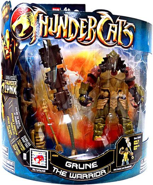 Thundercats Thunder Lynx Deluxe Grune the Warrior Action Figure [Mumm-Ra Logo]