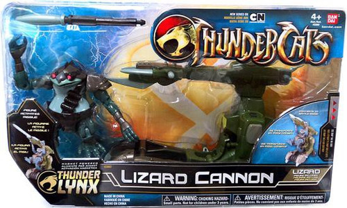 Thundercats Thunder Lynx Basic Lizard Cannon Action Figure Vehicle