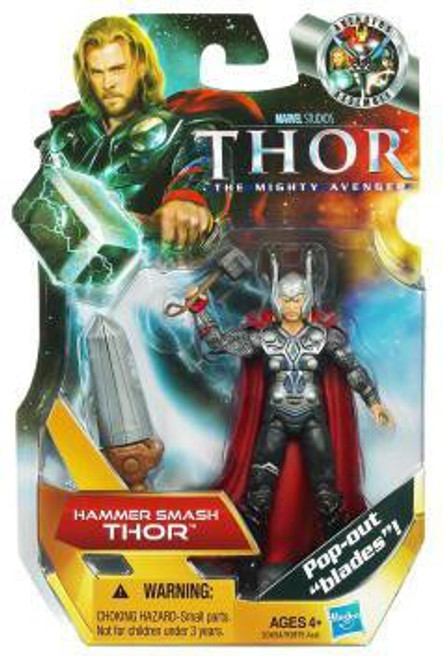 The Mighty Avenger Thor Action Figure #7 [Hammer Smash]