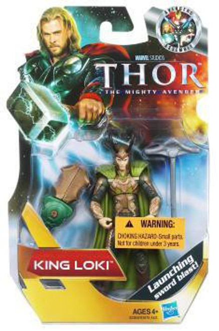 Thor The Mighty Avenger Loki Action Figure #12 [King]