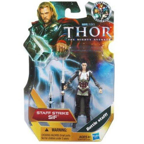Thor The Mighty Avenger Sif Action Figure [Staff Strike]
