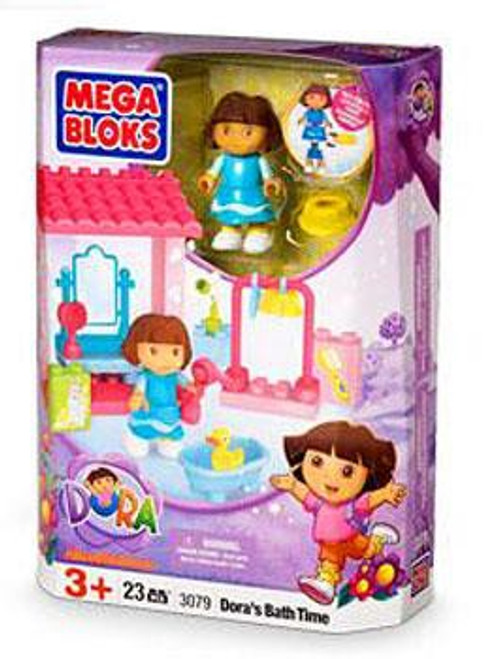 Mega Bloks Dora the Explorer Dora's Bath Time Set #3079
