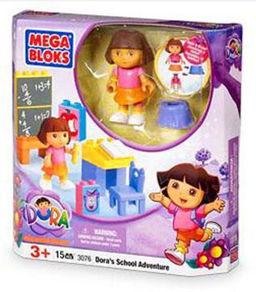 Mega Bloks Dora the Explorer Dora's School Adventure Set #3076