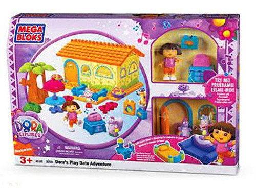 Mega Bloks Dora the Explorer Dora's Play Date Adventure Set #3059