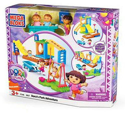 Mega Bloks Dora the Explorer Dora's Park Adventure Set #3057