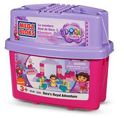 Mega Bloks Dora the Explorer Dora's Royal Adventure Set #3035