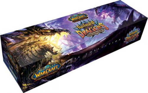 World of Warcraft Trading Card Game Twilight of the Dragons Epic Collection