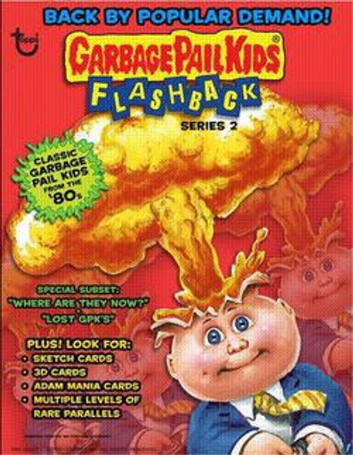Garbage Pail Kids Flashback Series 2 Trading Card Sticker Pack
