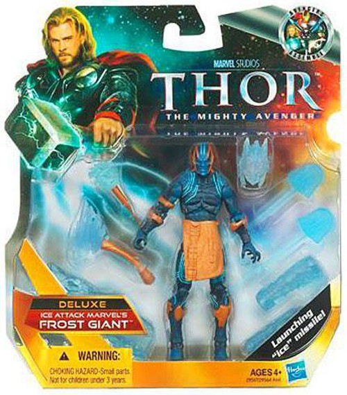 Thor The Mighty Avenger Deluxe Ice Attack Marvel's Frost Giant Action Figure