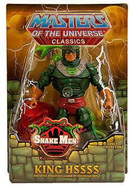 Masters of the Universe Classics Snake Men King Hssss Exclusive Action Figure