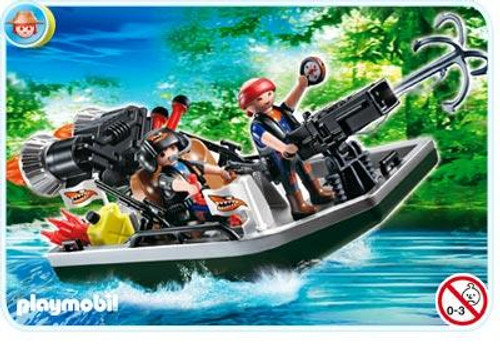 Playmobil Treasure Hunters Treasure Robbers Boat with Cannon Set #4845