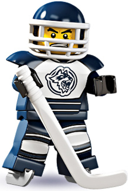 LEGO Minifigures Series 4 Hockey Player Minifigure [Loose]