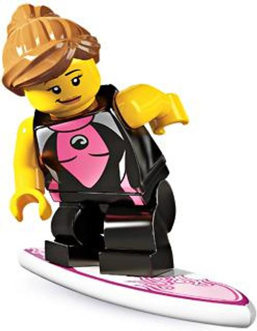 LEGO Minifigures Series 4 Surfer Girl Minifigure [Loose]