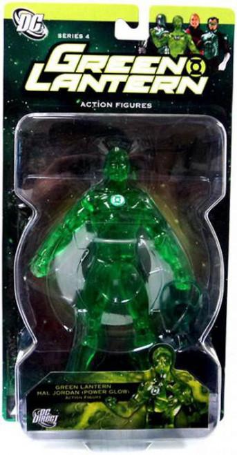 DC Green Lantern Series 4 Power Glow Hal Jordan Action Figure