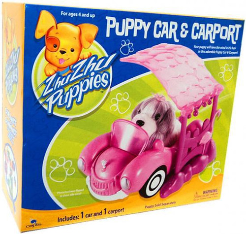Zhu Zhu Pets Zhu Zhu Puppies Puppy Car & Carport Playset