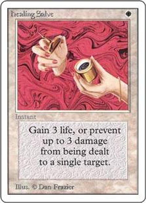 MtG Unlimited Common Healing Salve