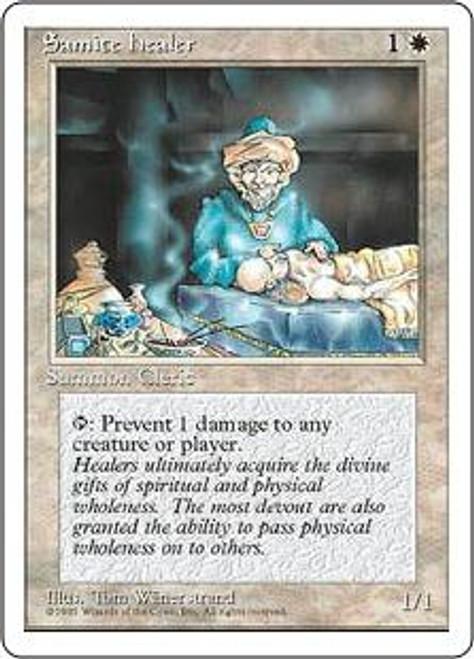 MtG 4th Edition Common Samite Healer