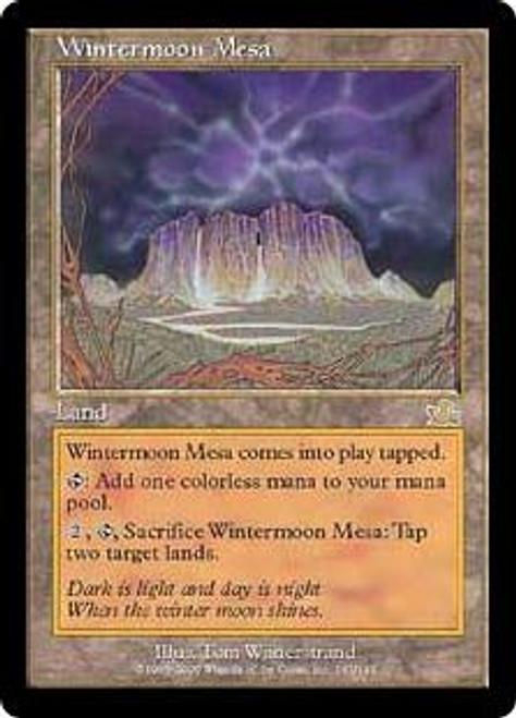 MtG Prophecy Rare Wintermoon Mesa #143