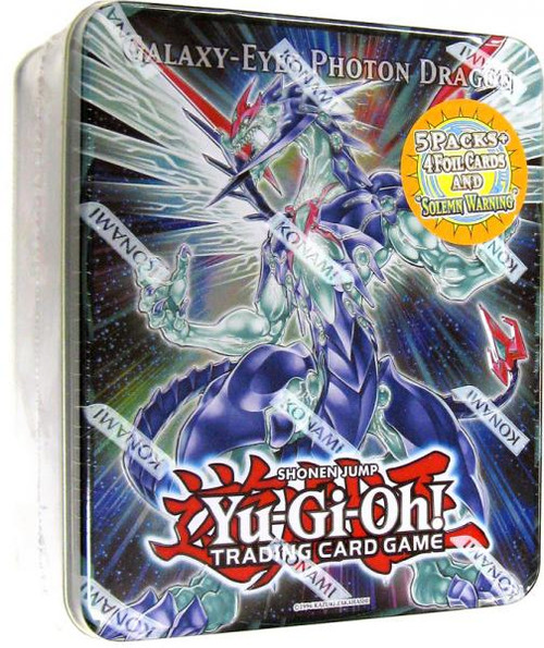 YuGiOh Zexal 2011 Collector Tin Galaxy-Eyes Photon Dragon Collector Tin [Sealed]