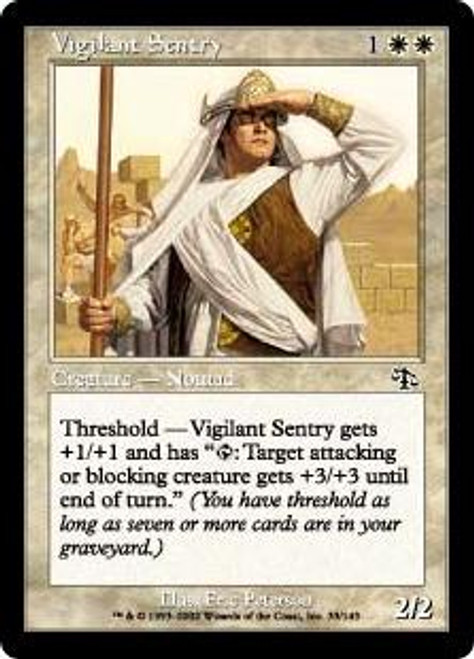 MtG Judgment Common Vigilant Sentry #33