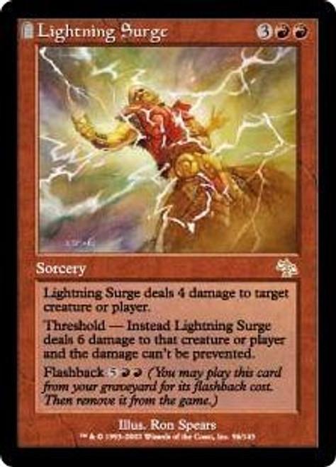 MtG Judgment Rare Lightning Surge #96