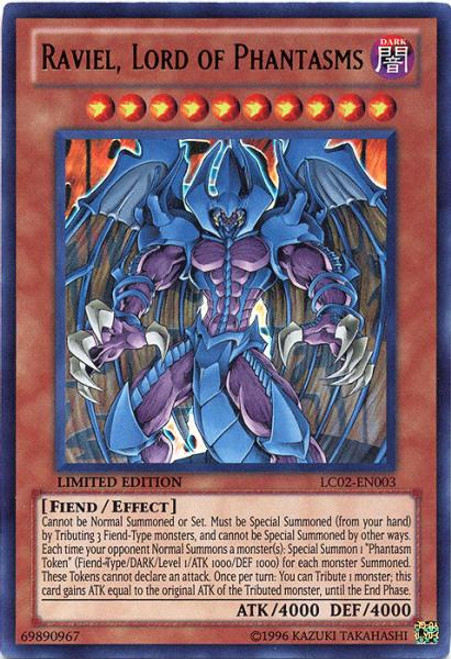 YuGiOh GX Legendary Collection 2 Ultra Rare Raviel, Lord of Phantasms LC02-EN003
