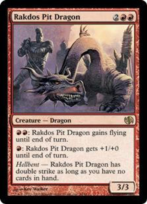 MtG Duel Decks: Jace vs. Chandra Rare Rakdos Pit Dragon #44