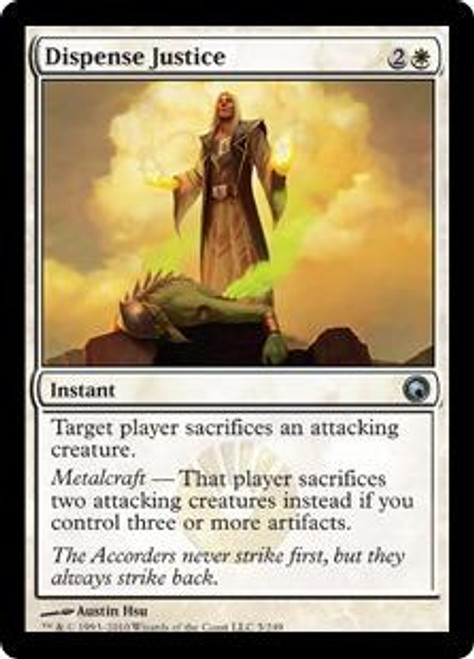 MtG Scars of Mirrodin Uncommon Dispense Justice #5