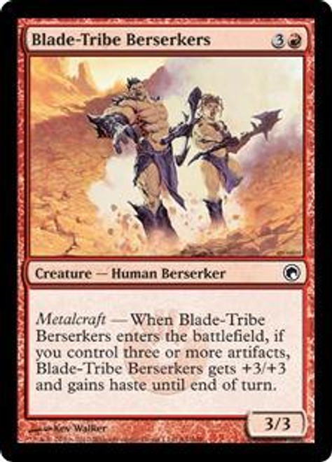 MtG Scars of Mirrodin Common Blade-Tribe Berserkers #84