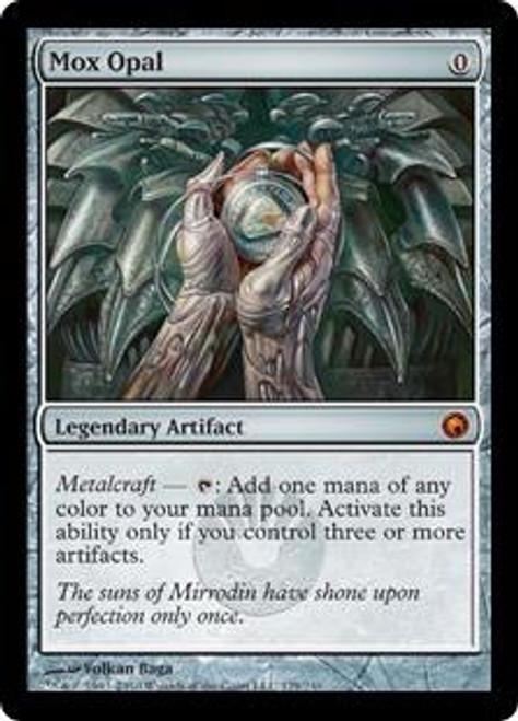 MtG Scars of Mirrodin Mythic Rare Mox Opal #179