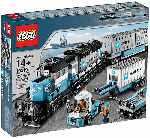 LEGO Exclusives Maersk Train Exclusive Set #10219