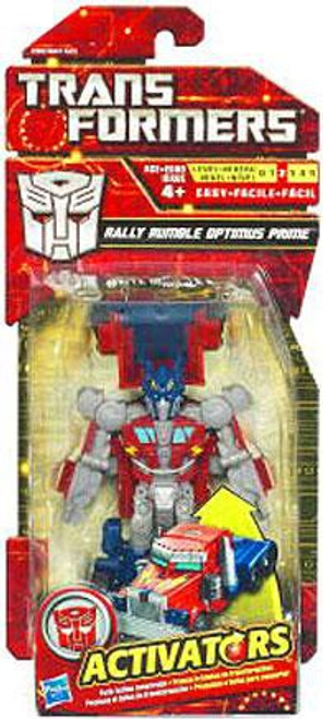 Transformers Activators Rally Rumble Optimus Prime Action Figure