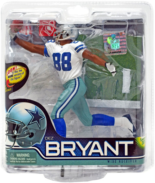 McFarlane Toys NFL Dallas Cowboys Sports Picks Series 28 Dez Bryant Action Figure