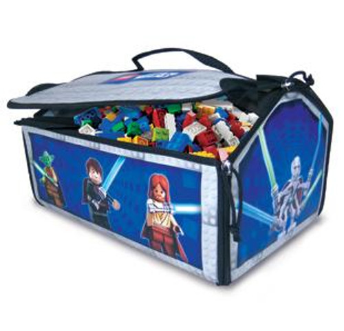 Star Wars LEGO ZipBin Battle Bridge Carry Case Playmat