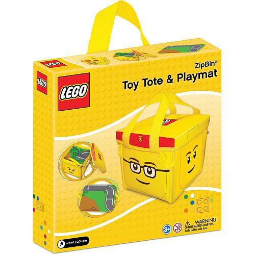 LEGO ZipBin Toy Tote & Playmat