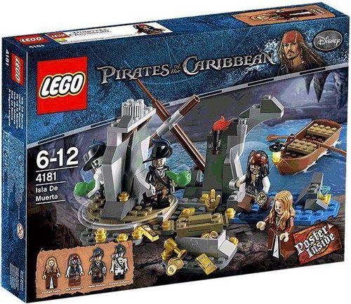 LEGO Pirates of the Caribbean Isla De Muerta Set #4181